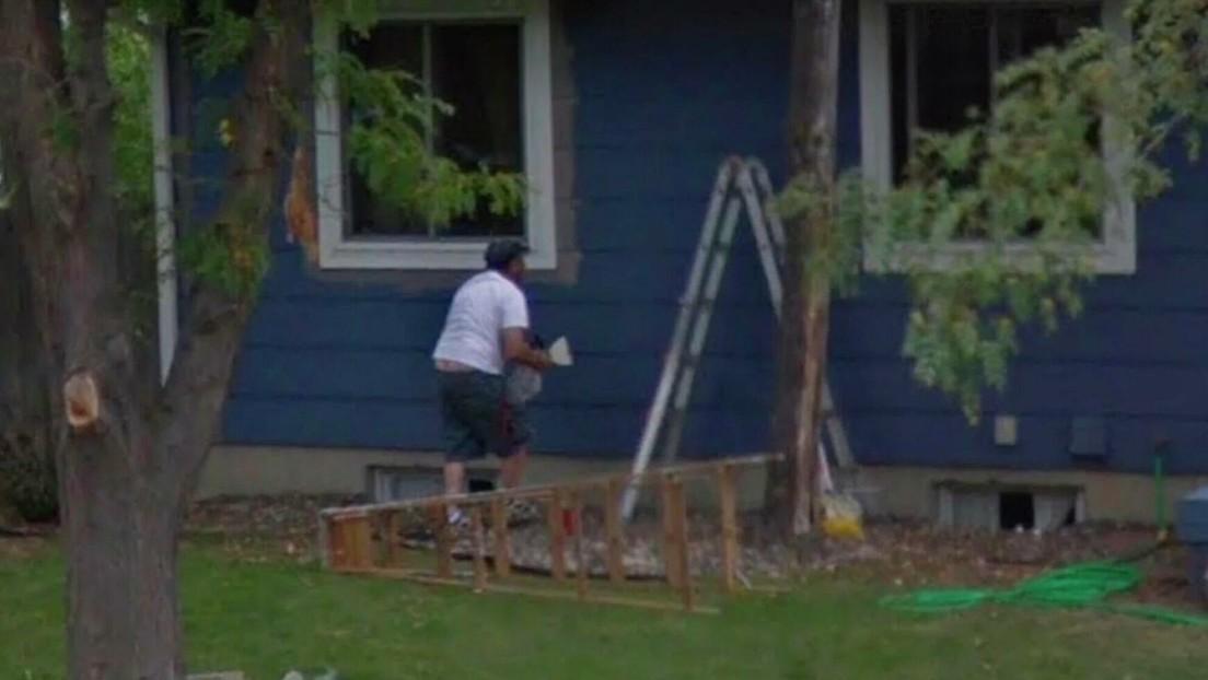 Buscó la casa de su madre muerta en Google Earth y se